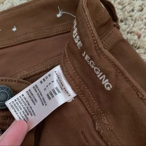 American Eagle Outfitters Jeans - ❕NWOT American Eagle Brown Utility Jeggings | 6-8.